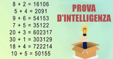 Le persone in grado di risolvere questo test hanno un'intelligenza superiore. Ci riesci?